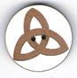 BD042 - Bouton triangle celtique
