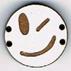 BD102 - Petit bouton smiley n°3