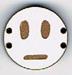BD107 - Petit bouton smiley n°8