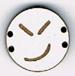 BD110 - Petit bouton smiley n°11