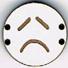 BD111 - Petit bouton smiley n°12