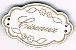 BE003B - Bouton Ciseaux