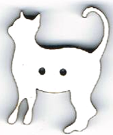 BG001 - Bouton Chat debout