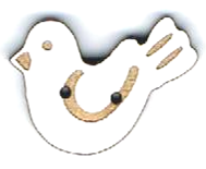 BG020 - Bouton Oiseau