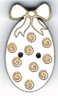 BH002B - Bouton Mini oeuf spirale