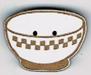 BL108B - Bouton bol à carreaux