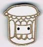 BL110B - Bouton pot de confiture