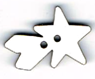 BNG104B- Bouton Grande étoile filante