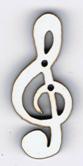 BR113 - Bouton note de musique 1