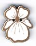 BS206 - Bouton fleur pensée