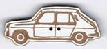 BT211B - Bouton voiture Simca