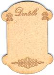 "CC002N - Petite cartonette ""dentelle"""