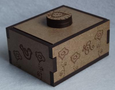 """MB04 - Mini boîte, """"Printemps"""""""
