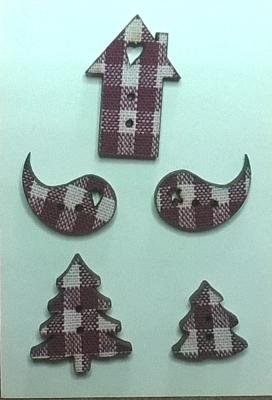 PE001 - Mini tissé vichy, série E
