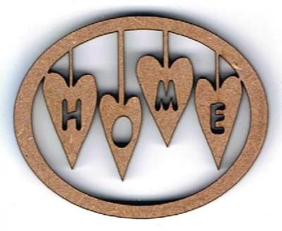 TC01 - Ajouré Ovale, Home & Coeurs