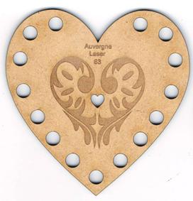 TF003N - Tri-fils coeur