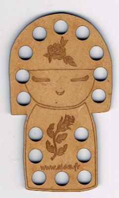 TF007N - Tri-fils Kokeshi
