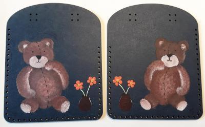 CPBV04- Duo Box Couture peint à la main
