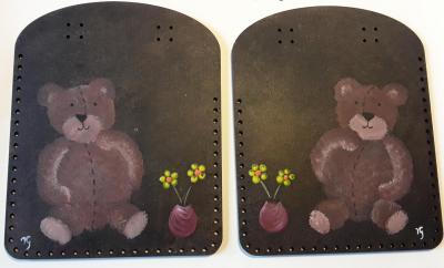 CPBV05- Duo Box Couture peint à la main