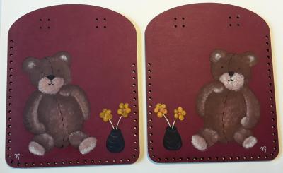 CPBV02- Duo Box Couture peint à la main