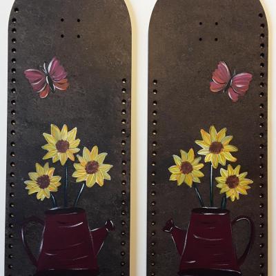 CPSV02- Duo Sac à main peint à la main
