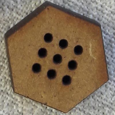 Lot 6 Mini Hexagone