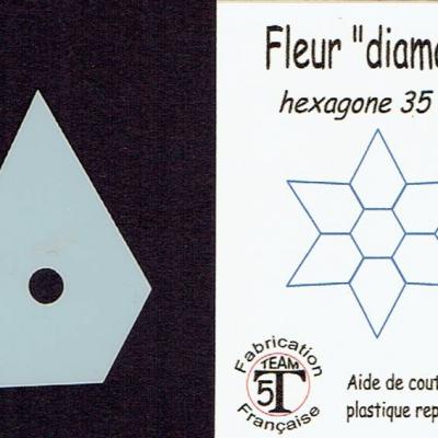 MFDM - Fleur diamant  35 mm