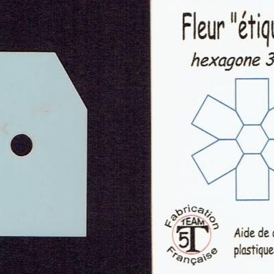 MFEM - Fleur étiquette  35 mm