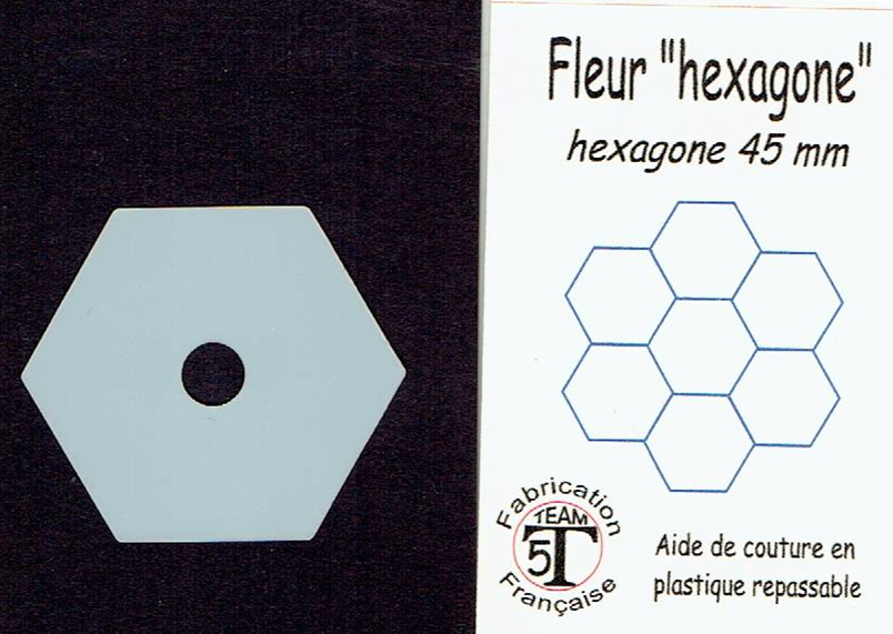 45 hexagone