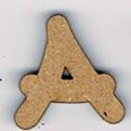 "AL005N+ - Alphabet ""Grand Arkos"" majuscules"