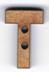 BA074 - lettre T