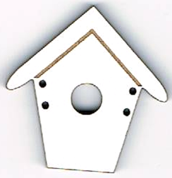 BD012B - Bouton Maisonnette n°3