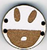 BD104 - Petit bouton smiley n°5