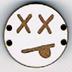 BD105 - Petit bouton smiley n°6