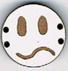 BD108 - Petit bouton smiley n°9