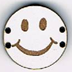 BD109 - Petit bouton smiley n°10