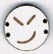 BD110 - Petit bouton smiley n°11