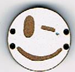 BD112 - Petit bouton smiley n°13