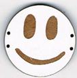 BD200 - Grand bouton smiley n°1