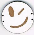 BD202 - Grand bouton smiley n°3