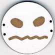 BD206 - Grand bouton smiley n°7
