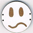BD208 - Grand bouton smiley n°9