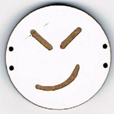 BD210 - Grand bouton smiley n°11