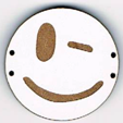 BD212 - Grand bouton smiley n°13