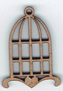 BD263 - Cage à oiseaux