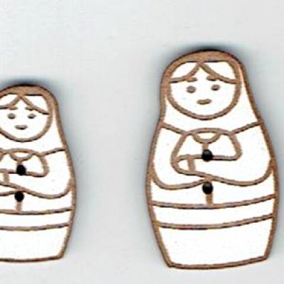 BD351- Lot poupée russe
