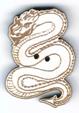 BD511 - Bouton dragon debout