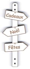 BD524 - Bouton flèche, Cadeaux Noël Fêtes