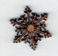 BD620- Flocon de neige
