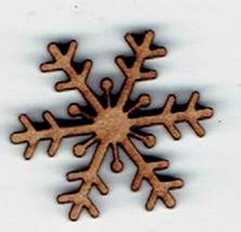 BD621- Flocon de neige arrondie